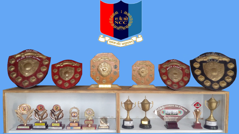 Awards won by Annada College's NCC Team