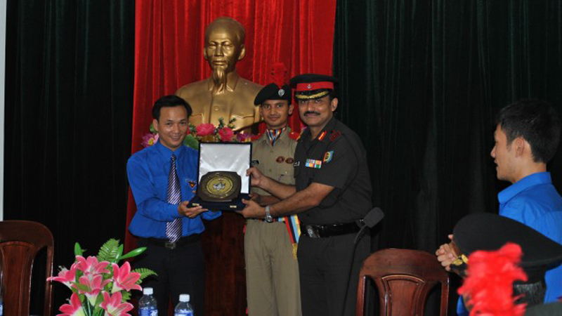 An Award by Viyetnam NCC Group